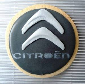 Galletas Citroën de Sweet Mary