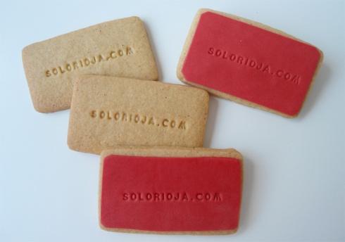 Galletas tarjetas de visita www.solorioja.com