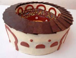 Tarta Plaza de toros de Sweet Mary