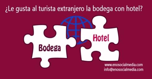 Bodega con hotel o bodega sin hotel para el turista extranjero