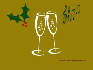 Brindis online en Navidad