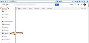 Crear página en Google + para bodegas