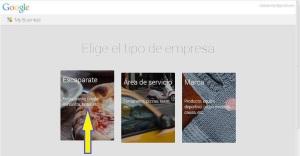 Crear página en Google+ Local para tu bodega