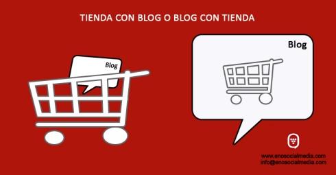 Blog con tienda