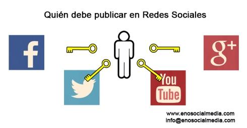 A quién dar las claves de las Redes Sociales