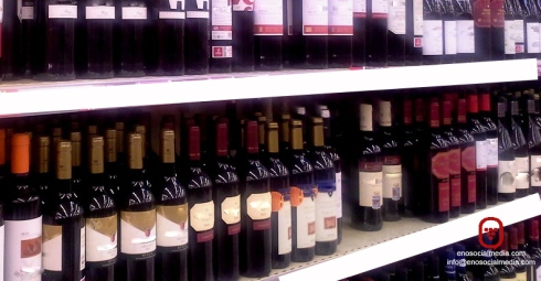 Vinos en Supermercado