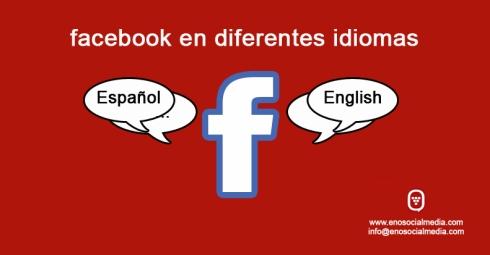 Publicar en facebook en distintos idiomas