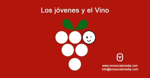 Gente joven y el vino