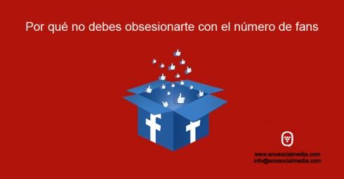 Obsesión por el número de fans de facebook